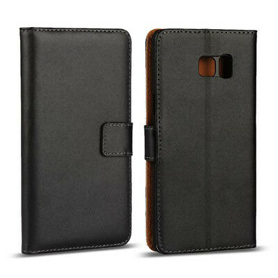 Luxury Genuine Real Leather Flip Case Wallet Cover For Samsung Note 9 A6 A7/2018