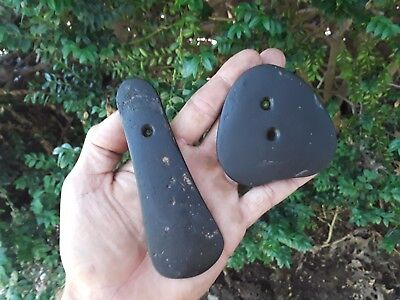 Quality Black Cannel Coal Pendant Stones Arrowheads Fossil Rock Collection Axe