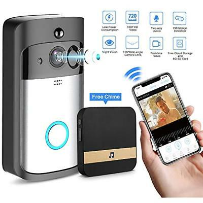 Home Security Systems Smart Video Doorbell Wireless WIFI Camera With Indoor 8G 2