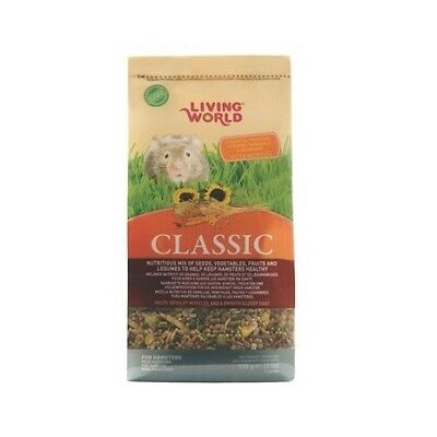 Alimento Hámster Living World 5'4Kg Comida Semillas Naturales Roedores
