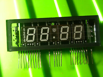 VFD 7segment time display, vacuum fluorescent