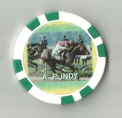 HORSE RACING A P INDY Belmont Stakes win Picture Pedigree