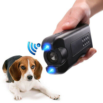 Ultrasonic Aggressive Dog Deterrent Repeller Infrared Bark Stopper Good Behavior