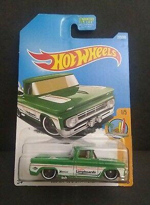 Hot Wheels 2017 Surf/'s Up Series #255 Custom /'62 Chevy Pickup Green w// ST8s