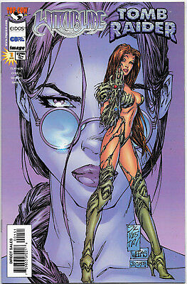 Witchblade Tomb Raider #1 Top Cow Comics Michael Turner Cover NM