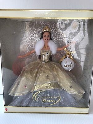 New nib 2000 barbie doll special edition holiday celebration.