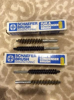 4 Schaefer Flue And Condenser Brushes 5/8