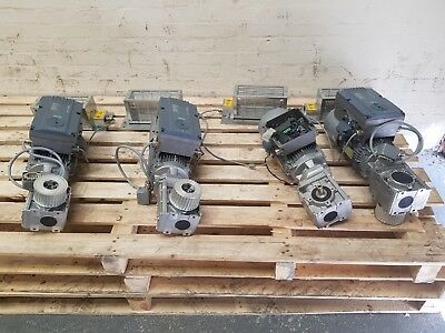 1.1kW SIEMENS INDUSTRIAL ELECTRIC MOTOR WITH GEARBOX