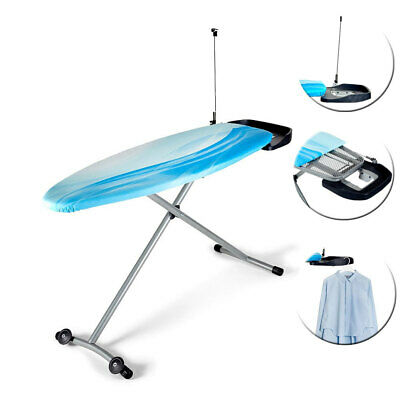 Westinghouse 53in Foldable/Portable Ironing Board w Cover/Iron Rest for Clothes