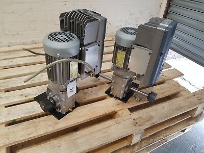 0.25kW SIEMENS INDUSTRIAL ELECTRIC MOTOR WITH GEARBOX