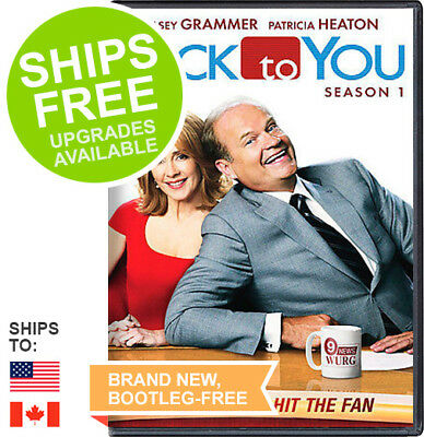 Back to You Complete First Season One 1 (DVD, 2009) Kelsey Grammer, Heaton