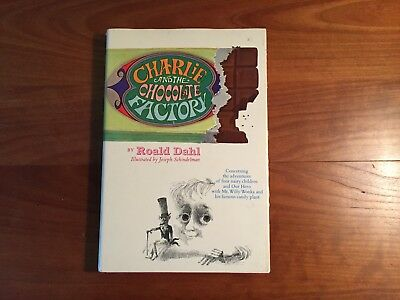 Charlie and the Chocolate Factory by Roald Dahl 1st edition, 2nd printing, 1964