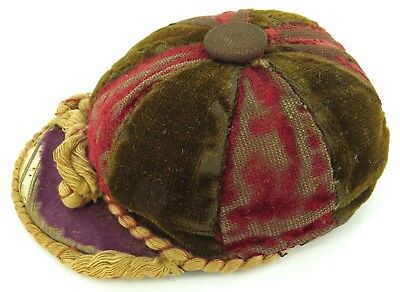 ".Absolutely Delightful / Largish / Antique ""School Cap"" Pincushion Pin Cushion."