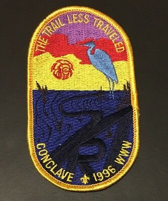 1996 Southern Region SR7B Order of the Arrow Conclave Patch