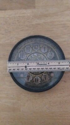 Bezel Ring/Face Plate/Glass  For Mantel Clocks. Parts Only