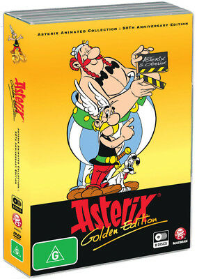 Asterix Animated Collection : 50Th Anniversary Edition (8Dvd) (Region 4)