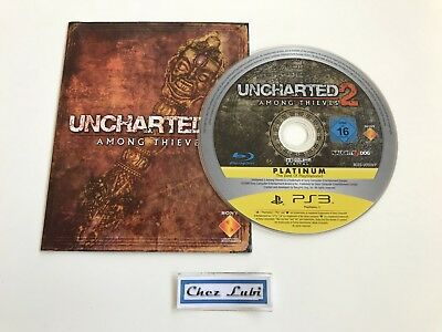 Uncharted 2 Among Thieves - Sony PlayStation PS3 - PAL FR - CD Avec Notice FR