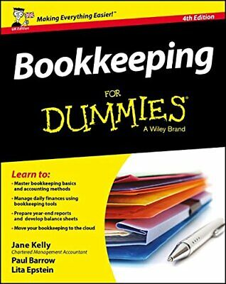 Bookkeeping For Dummies by Epstein, Lita Book The Cheap Fast Free Post