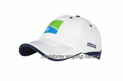 Preston Innovations White Baseball Cap 57d9f1bf7db