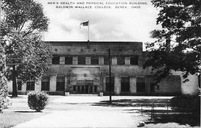 Old Photo. Berea, Ohio.  Men's Health and Physical Education Building