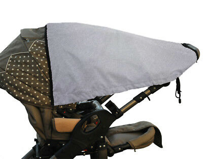 Rain Sun Canopy Baby Pram Stroller Shade Cover Umbrella Parasol Pushchair