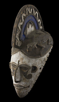 Antique mask African Igbo Ibo Abogho Mmuo - Art tribale 16585