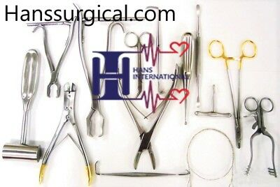 Veterinary Orthopedic 20 Pcs Set Cutter,Forcep,Wire Twister Surgical Instruments