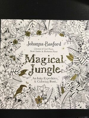 Magical Jungle An Inky Expedition And Coloring Book By Johanna Basford 2016