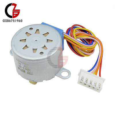 10PCS 28BYJ-48-12V 12V 4-phase 5-wire Stepper Motor Gear Module For Arduino