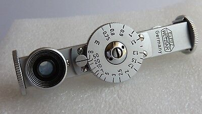 Leica/Leitz KOKOS chrome rangefinder base 6.2cm in excellent condition Germany