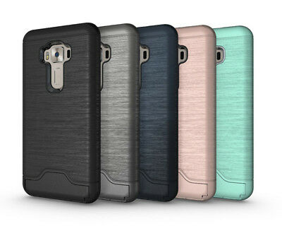 For LG G7 ThinQ Protective Case fitted back case Hybrid Armor Cover Card Slot