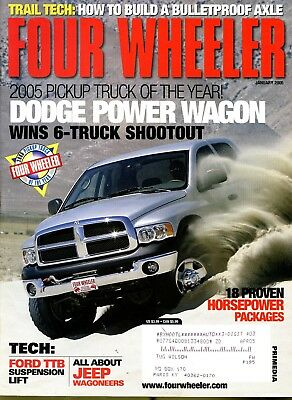 FOUR WHEELER MAGAZINE June 2018 2018 Pickup Truck of the Year: Ram
