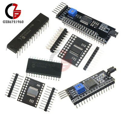 MCP23017 5V LCD 1602/2004/12864 Expander I2C IIC/SPI Serial Interface Module