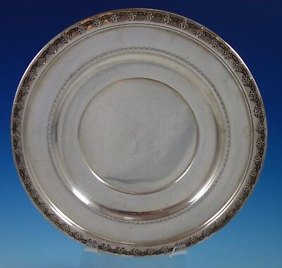 "Tara by Reed & Barton Sterling Silver Serving Plate #X458 10 3/4"" (#2686)"