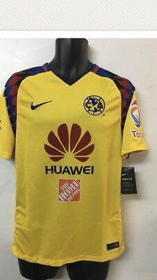 1f6a18f601 Nike Club America Official 2017 2018 Third Soccer Football Jersey Size XL
