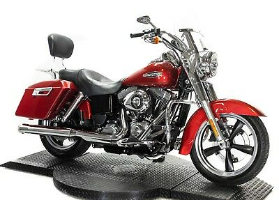 2012 Harley-Davidson Dyna  2012 Harley Davidson Dyna Switchback FLD Red Screamin' Eagle Exhaust Many Extras