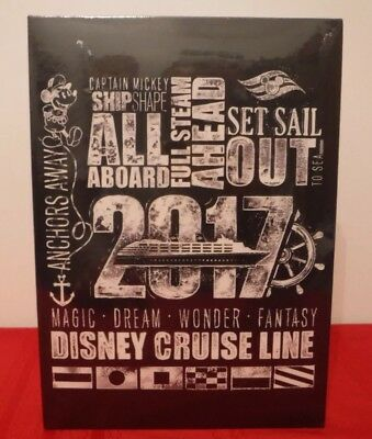 NEW 2017 Disney Cruise Line Photo Album FREE SHIPPING INCLUDED