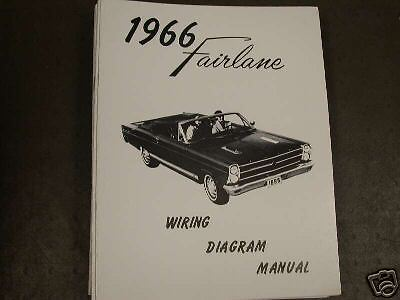 1966 Ford Fairlane Wiring Diagram Manual