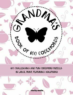 Grandma's Book Of 100 Codewords by Media, Clarity Book The Cheap Fast Free Post