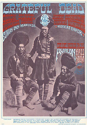 MINT Grateful Dead Rick Griffin 1967 FD 54 Family Dog Avalon Poster