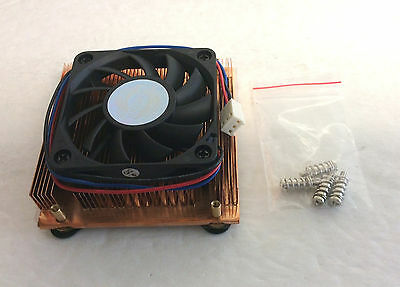 NEW Evercool CUW3-610CA Socket 478 CPU Cooler, Low Profile Copper Heatsink Fan