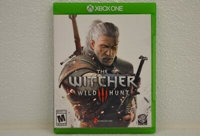 Microsoft XBOX One Game THE WITCHER III WILD HUNT **NO SCRATCHES** (FCO004153)