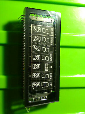 starburst 7segment VFD vacuum fluorescent display