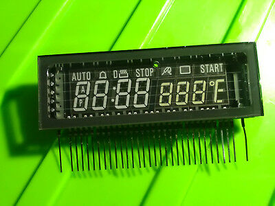 VFD temperature display 7segment vacuum fluorescent display