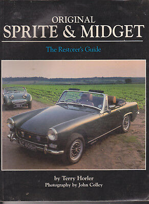 Mg Midget, Sprite, Bugeye Original Restorer's Guide  - Book - Manual (By Horler)