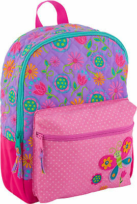 Stephen Joseph All Over Print Quilted Rucksack, Butterfly