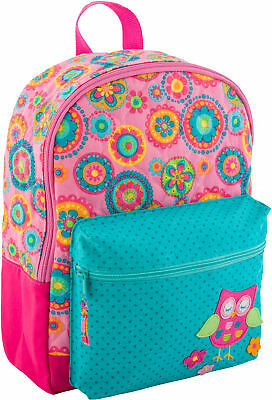 Stephen Joseph All Over Print Quilted Rucksack, Owl
