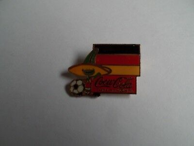 World Cup West Germany Soccer Pin 1986 FIFA Mexico Pique Mascot Coca-Cola