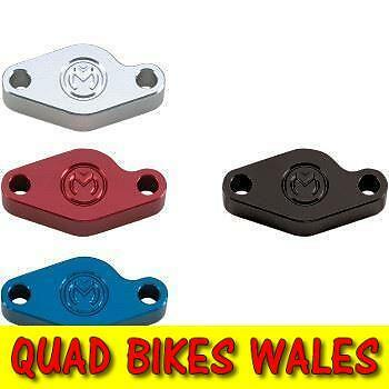 Quad Bike Hand Brake Blank Off Blanking Plate in Red