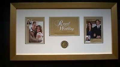 Royal Wedding 2011 Framed Collectables.Half Price. Save $97, Free Shipping.(0CC)
